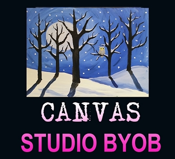 DECEMBER 26TH WEDNESDAY 6:30 PM **BYOB STUDIO ** 16 X 20 CANVAS