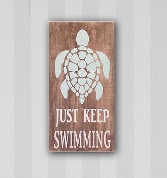 Classic:  Just Keep Swimming Sea Turtle