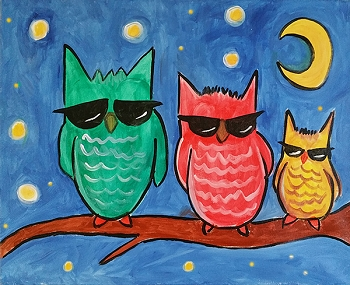 Rock and Roll Owls