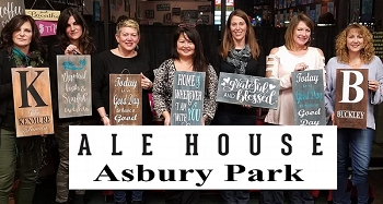 MAY 14TH TUESDAY 7:00 - ALE HOUSE  - ASBURY PARK  - SIP & SIGN