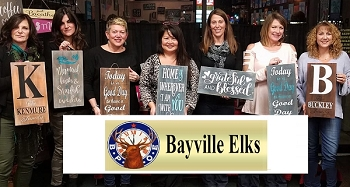 APRIL 24TH TUESDAY 7:00 PM  BAYVILLE ELKS FUNDRAISER