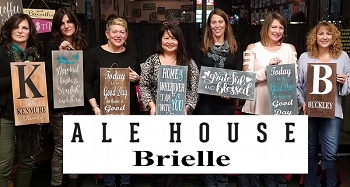 AUGUST 13TH MONDAY 7:00 - ALE HOUSE  - BRIELLE  - SIP & SIGN - OVER 70 CHOICES
