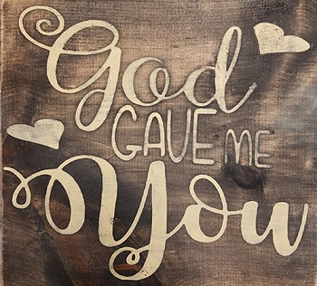 GOD GAVE ME YOU - 12