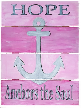 Hope Anchors the Soul - PInk