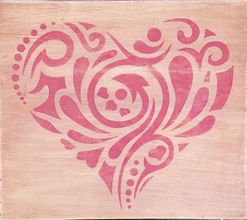 PINK HEART - 12