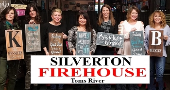MAY 20TH SUNDAY 1:00 PM - BYOB FUNDRAISER: SILVERTON FIRE HOUSE  - TOMS RIVER  - SIP AND SIGN