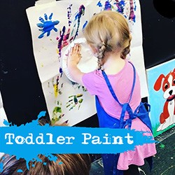 Sold Out JANUARY 18TH SATURDAY 10:00 - 11:00  MOMMY & ME TODDLER PAINT DATE