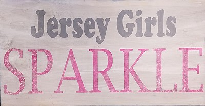 Jersey Girls Sparkle 18 x 10