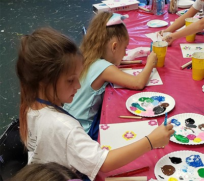 MARCH 16TH MONDAY 4:00 PM - 5:45 - KID'S AFTER SCHOOL ART - PAINTING, CRAFTS & SLIME TIME - $20