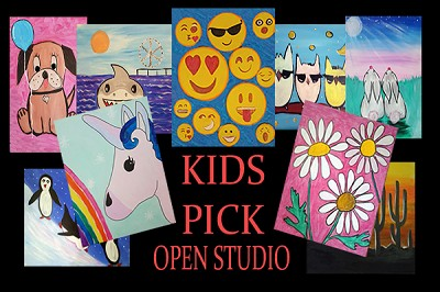 SEPTEMBER 26TH TUESDAY - 4:00 to 5:30 PM - KIDS ART DROP - **AGES 4 THRU 11 - ARTIST'S BIRTHDAY PARTY