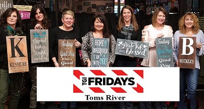 "MARCH 26TH MONDAY 6:30 PM -TGI FRIDAYS - TOMS RIVER ""SIP AND SIGN"""