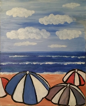 Sunbrella Acrylic Painting on Canvas Art Kit