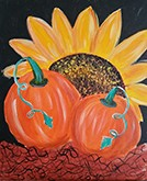 Finally Fall Acrylic Painting on Canvas Art Kit
