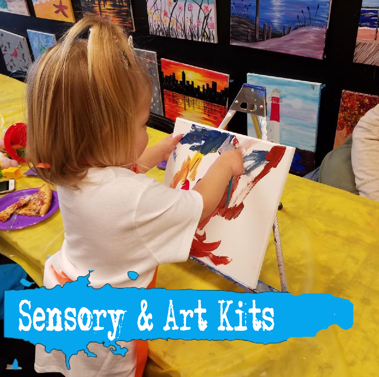 Sensory and Art Kits for Kids