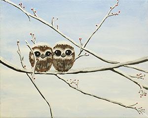 Owl Babies - Social Artworking Design