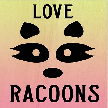 Classic:  Love Racoons 12 x12