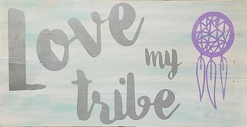 Classic:  Love my Tribe