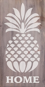 Pineapple Home Sign