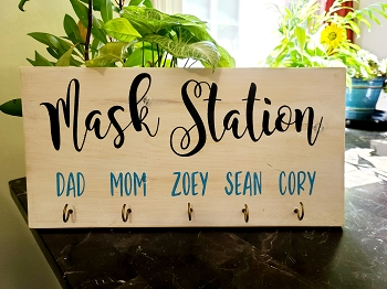 Classic:  Personalized:  Family Mask Station