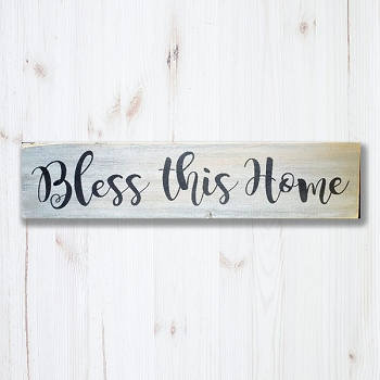 Classic:  Bless this House  24 x 6