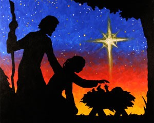Nativity Acrylic Painting on Canvas Art Kit