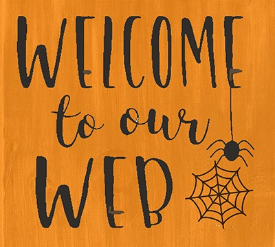 Classic:  Welcome to our Web 12""