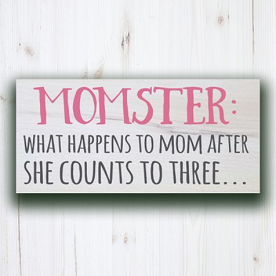 Classic:  Momster: What happens to Mom after she Counts to 3...