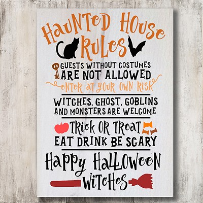 Classic:  Haunted House Rules