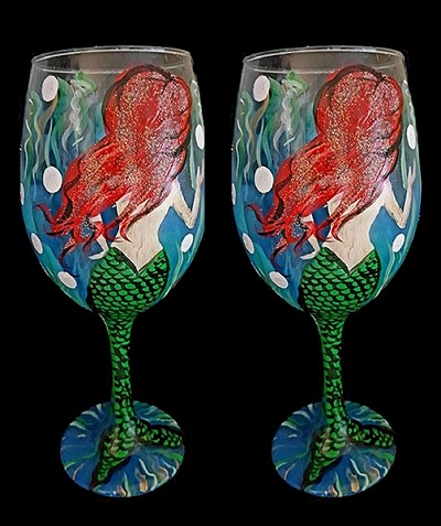 Bubble Maid Wine Glasses - Set of 2
