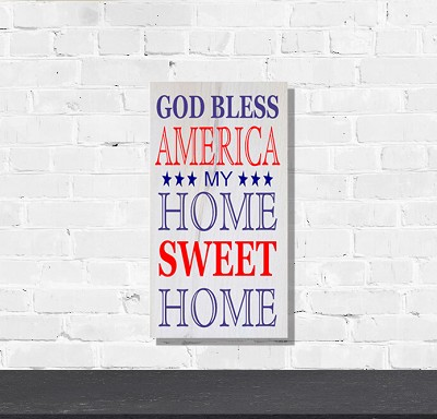 Classic:  God Bless America my Home Sweet Home