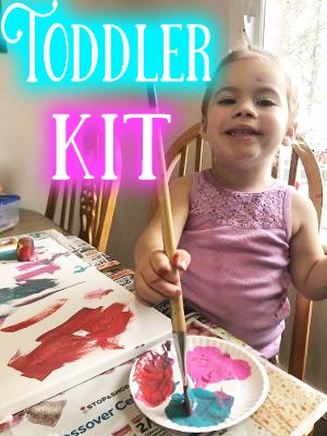 Toddler Art & Sensory Activities kit
